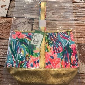 New Lilly Pulitzer Wine Tote Bag